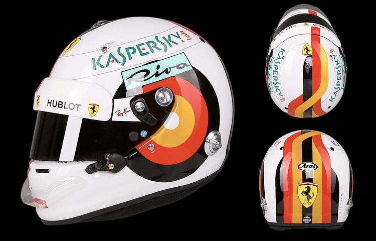 Helmet Design for Sebastian Vettel