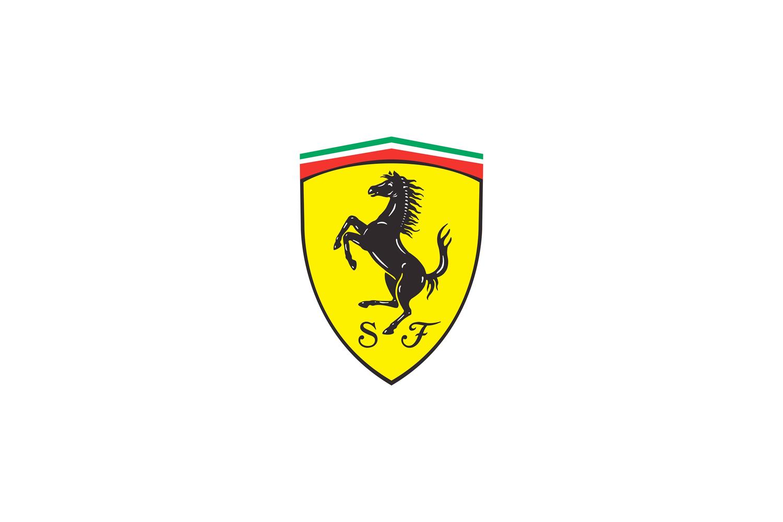 Ferrari Logo The Black Prancing Horse Logo Design