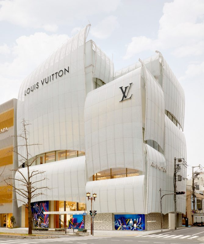 louis vuitton sail building
