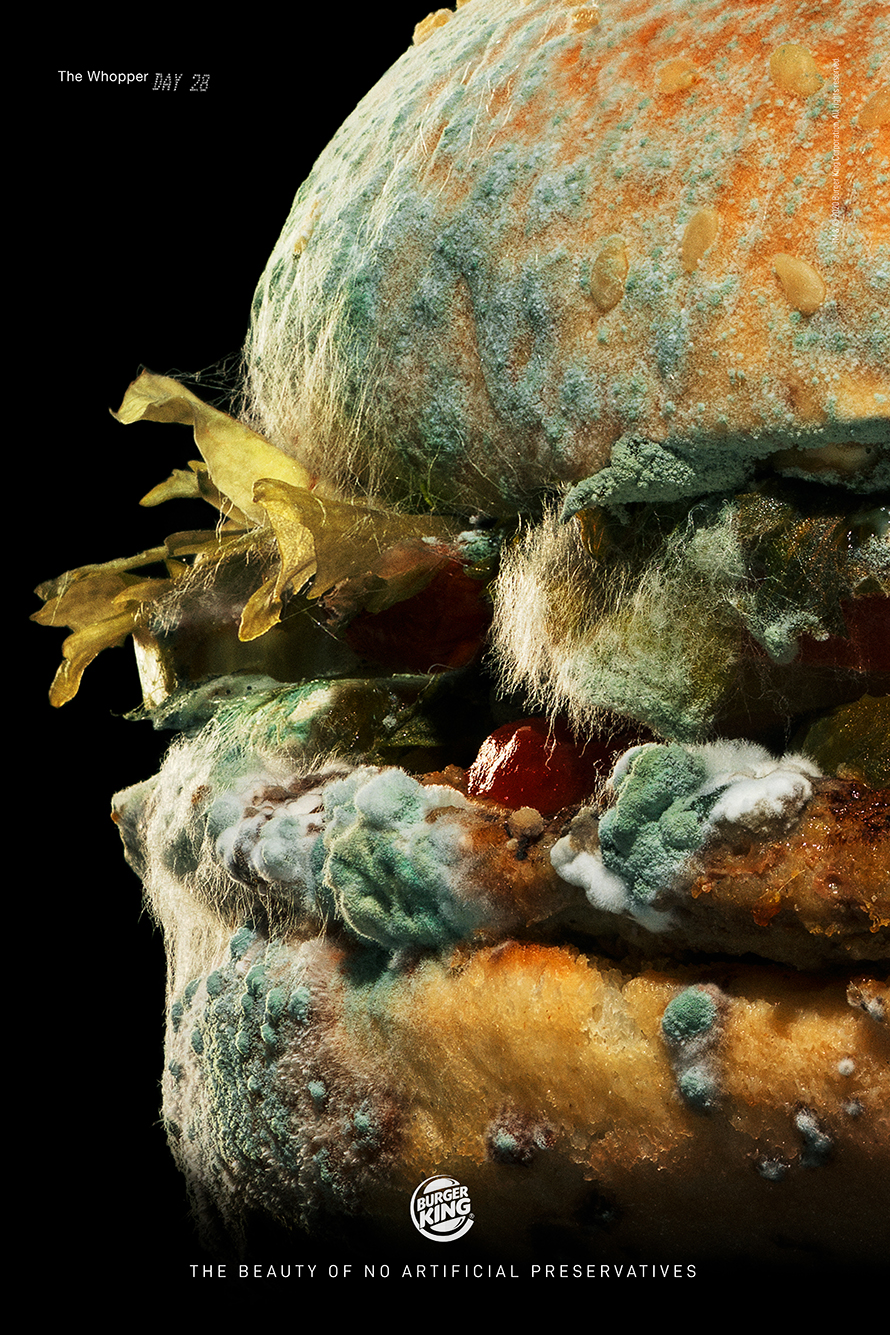 Burger King Moldy Whopper Ad