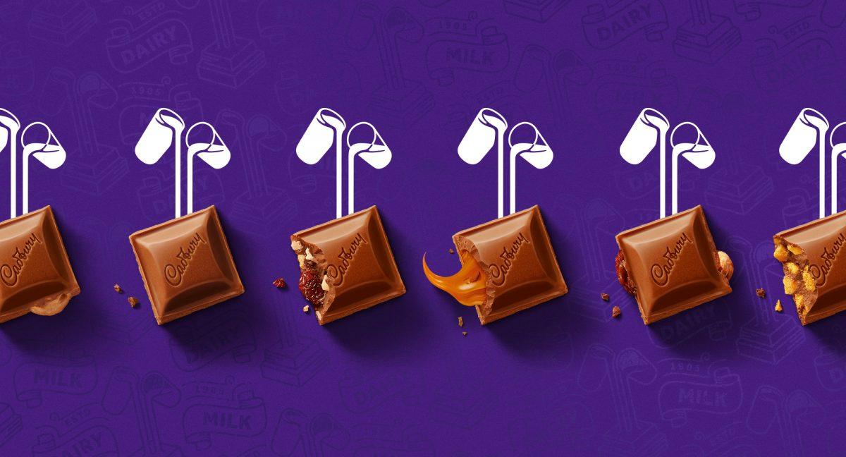 cadbury milk glasses