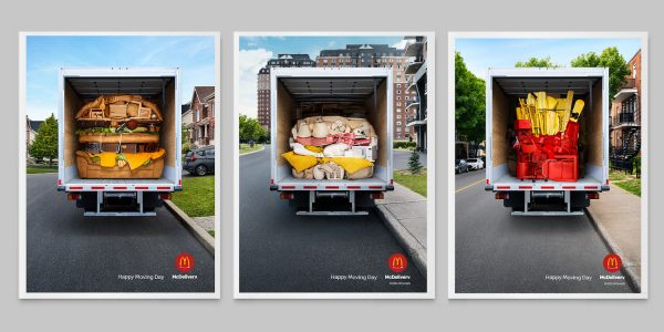 McDonalds Moving Day Van Ads